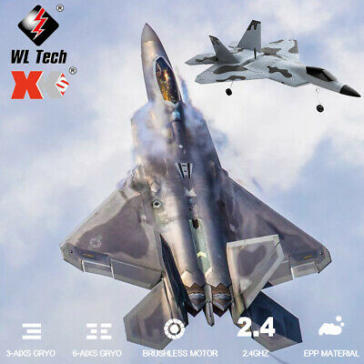 £53.99 • Buy WLtoys XKS A180 F22 Raptor Plane 2.4Ghz 3CH RC RTF Airplane Aircraft Fixed Wing