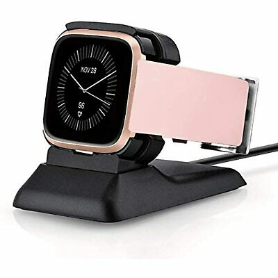 $ CDN24.40 • Buy Kartice Charger Stand For Fitbit Versa 2  (Not For Versa)(Black)