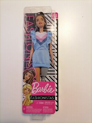 £11 • Buy Barbie Fashionistas Doll With Long Brunette Hair And Prosthetic Leg