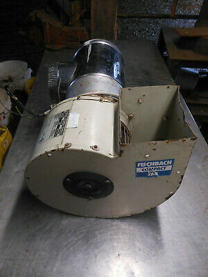 £25 • Buy Fischbach Compact Fan Centrifugal Dust Fume Extractor Workshop Welding