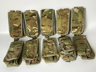 £15 • Buy British Army Issue Osprey MTP Multicam Double Magazine Pouch X 10 Pouches