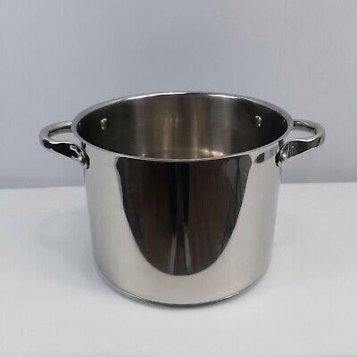 $ CDN62.45 • Buy Wolfgang Puck 8 Qt Cafe Collection Stock Soup Pot 18/10 Stainless Steel No Lid