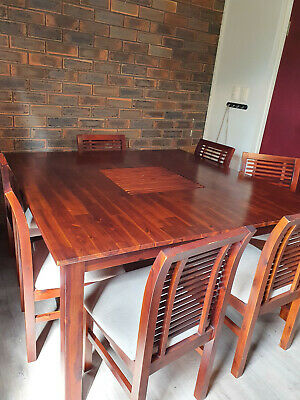 AU330 • Buy 8 Seater 1500 Square Timber Dining Table