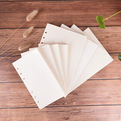 AU6.53 • Buy 1X Ring Binder Notebook A5 A6 Insert Refills 6 Holes Spiral Diary Planner  N Bw