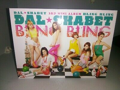 Dal Shabet Bling Bling Kpop Single Album K-Pop  • 8£