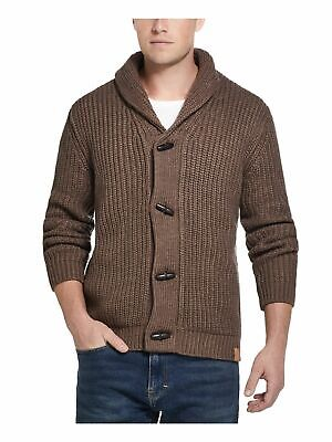 $24.99 • Buy NEW!!! WEATHERPROOF VINTAGE Mens Brown Button Down Cardigan Sweater SMALL
