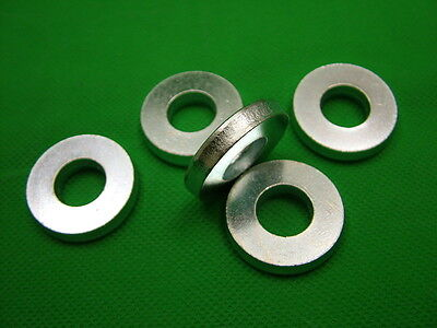 £3.20 • Buy Extra Thick Flat Spacer Washers, Steel, M12, 6mm Thick, Pack Of 5, Zinc Plated