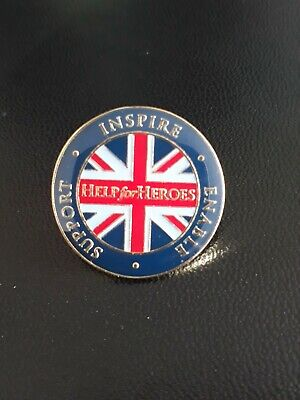 £55 • Buy Help For Heroes Lapel Pin Badge Inspire Enable Support New Job Lot Of 10