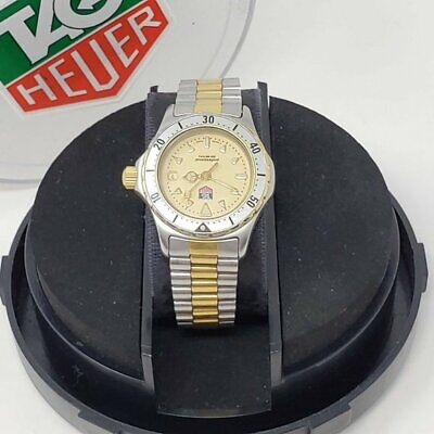 £506.57 • Buy 100% Auth Tagheur Women Silver Gold Swiss Watch