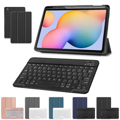 AU45.99 • Buy For Samsung Galaxy Tab S6 Lite 10.4 P610 Keyboard Leather Case Cover Pencil Slot