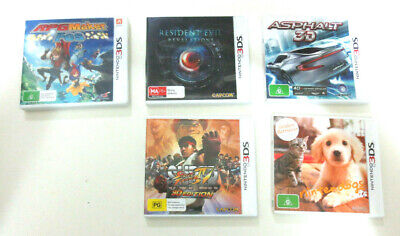 AU25 • Buy Nintendo 3ds Games (choose Any 5 Titles)