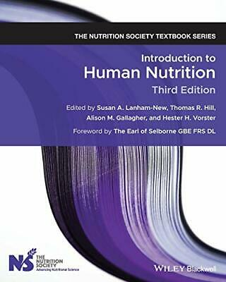 £46.10 • Buy Introduction To Human Nutrition (The Nutrition Society Textbook) By Lanham-Ne…