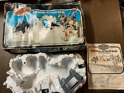 $ CDN62.77 • Buy Star Wars Vintage 1980 Kenner Hoth Imperial Attack Base  + Box & Instructions