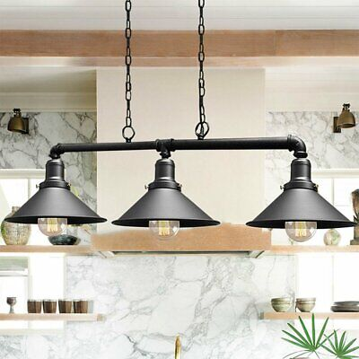 £35.99 • Buy Industrial Retro Pendant Light Shade Suspended Ceiling Lights Style Metal Lamp