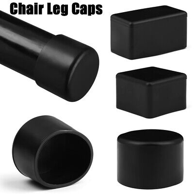 £3.29 • Buy UK 4pc Chair Leg Caps Rubber Feet Protector Pads Furniture Table Leg Dust Cover