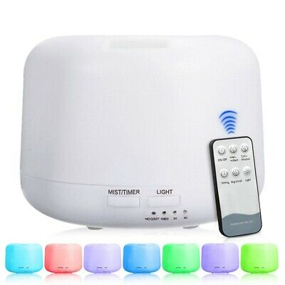 AU18.96 • Buy Ultrasonic Aroma Aromatherapy Diffuser Oil Electric Air Humidifier Essential LED