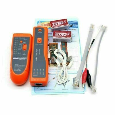 £17.75 • Buy Cable Finder Tone Generator Probe Tracker Wire Network Tester Tracer Kit
