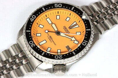 $ CDN176.51 • Buy Seiko Divers 7002-7000 Automatic With Orange Dial - Serial Nr. 410257