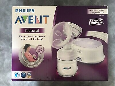 AU80.76 • Buy Philips Avent Natural Breast Pump Single Electric