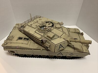 $45 • Buy 2007 Unimax QTA007 Forces Of Valor M1A1 Abrams US Army Military Tank 17