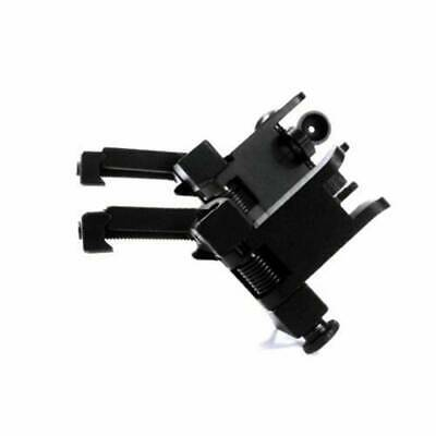 £14.73 • Buy Front And Rear Flip Up 45Degree Offset Iron Sight Rapid Transition Backup Sights