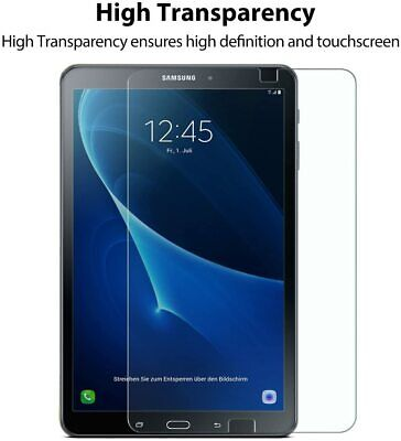 £5.99 • Buy Genuine Tempered Glass Screen Protector Cover For Samsung Galaxy Tab A A6 10.1