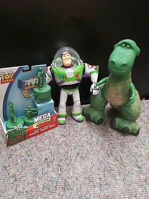 £45 • Buy DISNEY PIXAR TOY STORY ARMY SOLDIERS  / REX   And BUZZ FIGURES.