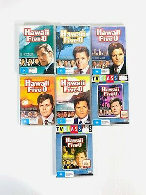 AU139.95 • Buy Hawaii Five-O | Complete Original Series | Season 1 - 7 |DVD Box Set TV Show 5 0