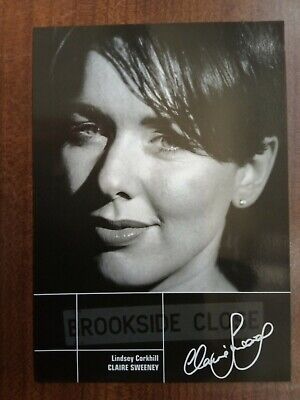 £4.99 • Buy CLAIRE SWEENEY *Lindsey Corkhill* BROOKSIDE PRE-SIGNED AUTOGRAPH CAST CARD