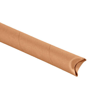 $63.72 • Buy Snap Seal Kraft Mailing Tubes, 1 1/2 X 18 , Pack Of 70, For Shipping And Storing
