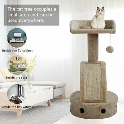 AU28.51 • Buy Cat Tree Scratching Post Tower Condo Pet Kitten Activity Center Bed Stand House