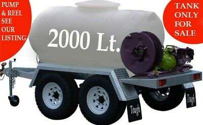 AU1799.70 • Buy Fire Fighting Or Transport 2000 Litres Water Tank   Easy Fit On Ute Or Trailer.