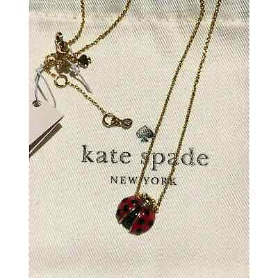 $ CDN54.43 • Buy Kate Spade Little Ladybug Pendant Jewelry Necklace