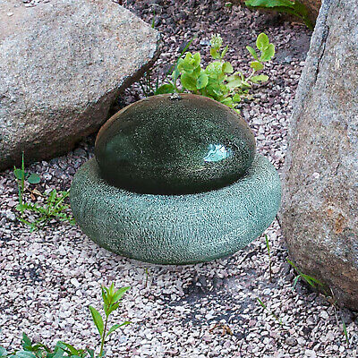 £129.99 • Buy Water Feature Solar Powered Resin Stone Effect Garden Ornaments Decorative