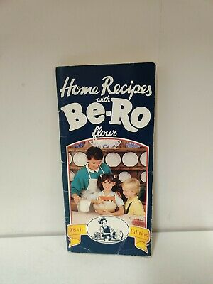 Vintage Home Recipes With Be-Ro Flour Book 38th Edition (1989) (i2) • 24.99£
