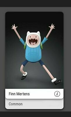 AU77.37 • Buy VeVe NFT - Adventure Time - Finn Mertens - First Appearance, China Exclusive