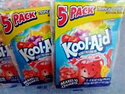 £9.91 • Buy KOOL-AID~ TROPICAL FRUIT PUNCH FLAVOR~ 35 Packets~ Free Shipping