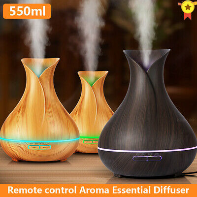 AU21.99 • Buy Aroma Aromatherapy Diffuser LED Essential Oil Ultrasonic Air Humidifier Purifier