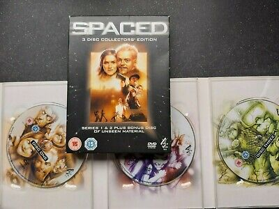 £3.50 • Buy Classic SPACED - 3 Disc COLLECTOR'S EDITION DVD (Simon Pegg)