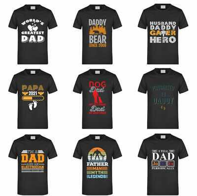 £7.99 • Buy DOG , Electrician Message  DAD Gift Father Day Men Short Sleeve T Shirt