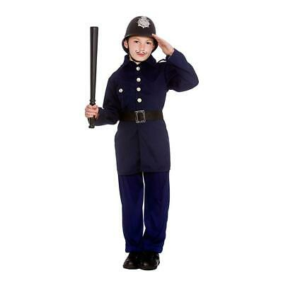 £11.95 • Buy Victorian Policeman Kids Costume Childrens Old Fashioned Cop Fancy Dress Outfit