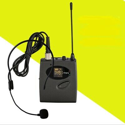 £49.59 • Buy Wireless Microphone Set With Headset Transmitter Receive Fit Preaching Teaching