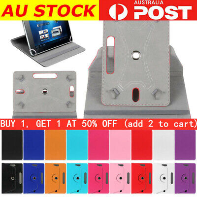 AU11.99 • Buy 360°Rotating Tablet Case PU Leather Cover  For 7  8  9  10.1  Android Tablet PC