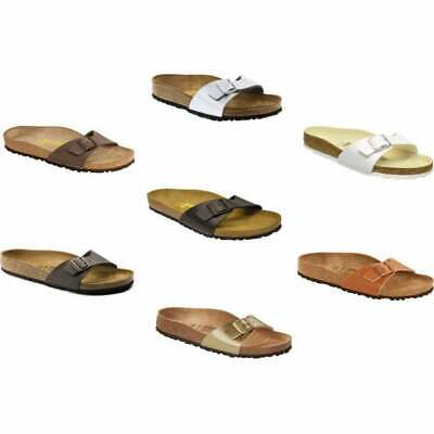 £39.99 • Buy Birkenstock Madrid Womens Sandal In Various Colours And Sizes