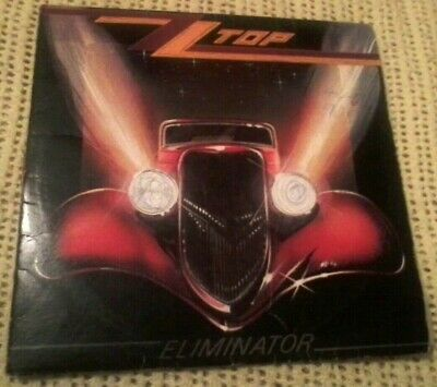 AU69.95 • Buy Zz Top Eliminator Vinyl Lp 1983 Original Australian Pressing 23774 1