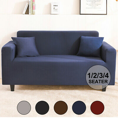 AU15.99 • Buy Sofa Cover Couch Covers 1 2 3 4 Seater Slipcover Lounge Protector High Stretch