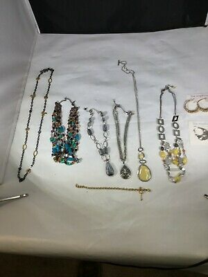 $ CDN75.31 • Buy Lia Sophia Fashion Jewelry Necklace & Earring Lot