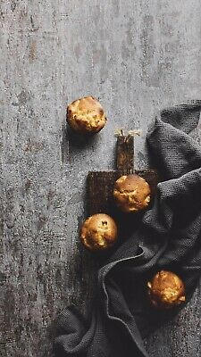 Vinyl Textured Food Product Photography Backdrop Durable Rustic • 24.99£