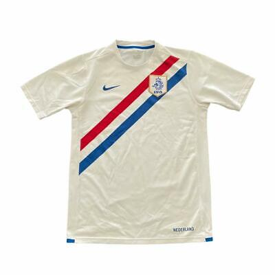 Knvb Holland Netherlands Nike 2006-2008 Away Shirt Boys Age 13-15 Years • 12.50£