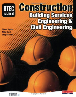 £4.19 • Buy BTEC National Construction, Building Services Engineering And Civil Engineering